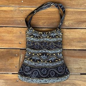 Vintage sequinned and beaded Evening Bag